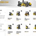 New website offers used materials handling equipment from trusted Yale dealers